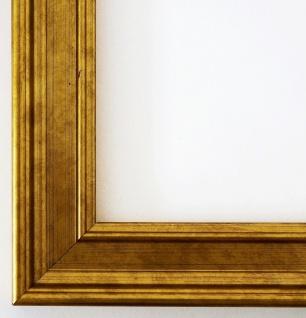 Bilderrahmen Hamburg in Gold Antik Barock Urkunde Holz 3, 4 - NEU alle Größen