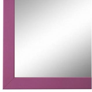Wandspiegel Spiegel Magenta Modern Holz Asti 1, 7 - NEU alle Größen
