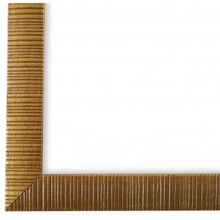 Bilderrahmen Gold Holz Sorrento 2, 5 - 24x30 28x35 30x30 30x40 30x45 40x40 40x50