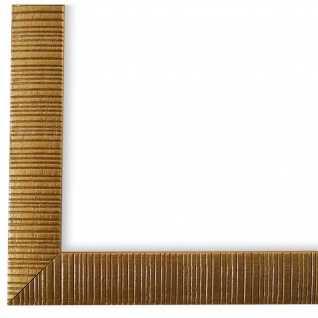 Bilderrahmen Gold Retro Holz Sorrento 2, 5 - DIN A2 - DIN A3 - DIN A4 - DIN A5