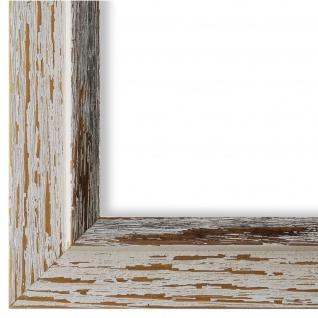 Bilderrahmen Beige Schwarz Retro Vintage Holz Catanzaro 3, 9 - NEU alle Größen