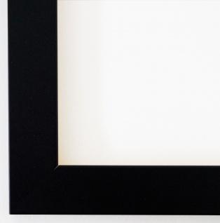 Bilderrahmen matt Schwarz Antik Shabby Rahmen Leverkusen 3, 3 - alle Größen NEU
