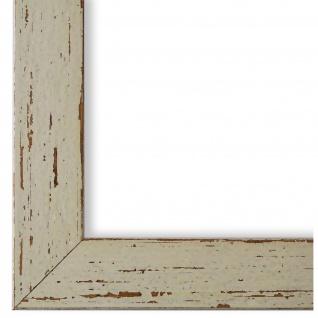 Bilderrahmen Beige Antik Shabby Holz Cremona 3, 0 - NEU alle Größen