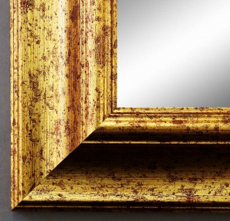 Wandspiegel Hochformat Querformat Antik Acta Gold gemasert 6, 7 - NEU alle Größen