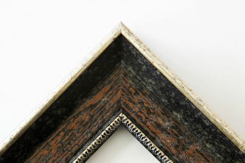 Wandspiegel dunkel Braun Silber Monza Antik Barock 6, 7 - NEU alle Größen - Vorschau 3