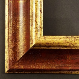Bilderrahmen Foto Urkunden Rahmen Barock Antik Vintage Acta Dunkel Rot Gold 6, 6