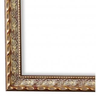 Bilderrahmen Gold Barock Holz Brescia 3, 0 - DIN A2 - DIN A3 - DIN A4 - DIN A5