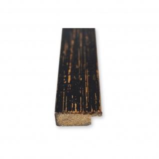 Bilderrahmen Schwarz Antik Vintage Holz Cremona 3, 0 - 40x60 50x50 50x60 60x60 - Vorschau 4
