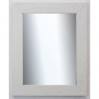 Dekospiegel Weiss Capri Rustikal 5, 8 - NEU alle Größen - Vorschau 1