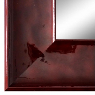 Wandspiegel Spiegel Rot Lack Modern Vintage Taranto 7, 5 - NEU alle Größen
