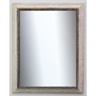 Spiegel Wandspiegel Bad Flur Garderobe Shabby Landhaus Bari Beige Schwarz 4, 2