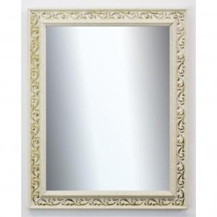 Spiegel Wandspiegel Badspiegel Flur Antik Barock Shabby Verona Creme Weiß 4, 4