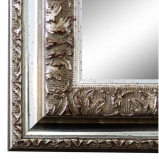 Wandspiegel Spiegel Silber Barock Vintage Holz Rom 6, 5 - NEU alle Größen
