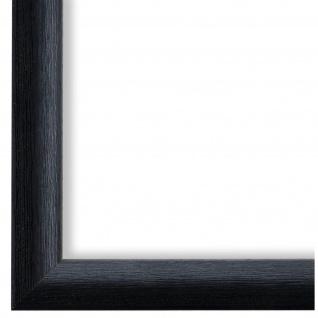 Bilderrahmen Schwarz Vintage Holz Pinerolo - DIN A2 - DIN A3 - DIN A4 - DIN A5