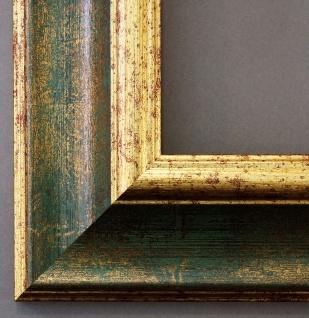 Bilderrahmen Fotorahmen Urkunden Rahmen Antik Barock Vintage Acta Grün Gold 6, 8