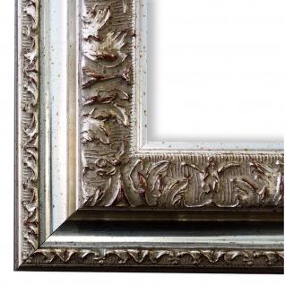 Bilderrahmen Silber Barock Rokoko Retro Holz Rom 6, 5 - NEU alle Größen