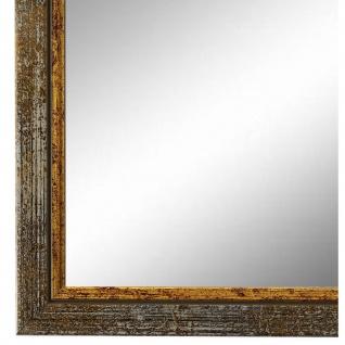 Wandspiegel Spiegel Grau Gold Retro Vintage Holz Sanremo 1, 8 - NEU alle Größen