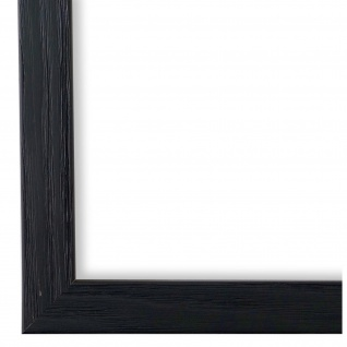 Bilderrahmen Schwarz Holz Siena 2, 0 - 24x30 28x35 30x30 30x40 30x45 40x40 40x50