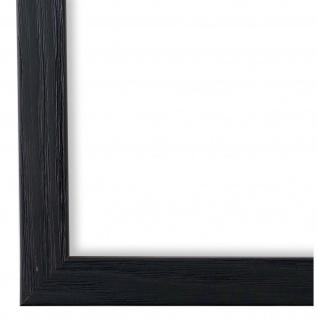Bilderrahmen Schwarz Retro Modern Holz Siena 2, 0 - NEU alle Größen
