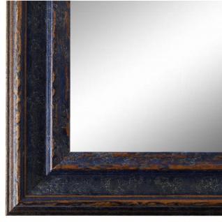Wandspiegel Spiegel Blau Vintage Retro Holz Forli 3, 7 - NEU alle Größen
