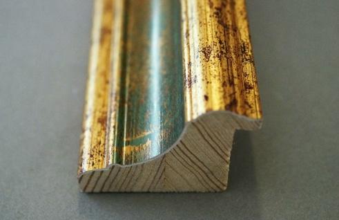 Dekospiegel Grün Gold Bari Antik Barock 4, 2 - alle Größen - Vorschau 3