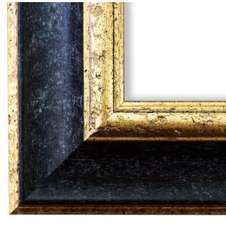 Bilderrahmen Schwarz Gold Antik Vintage Rahmen Acta 6, 8 - NEU alle Größen
