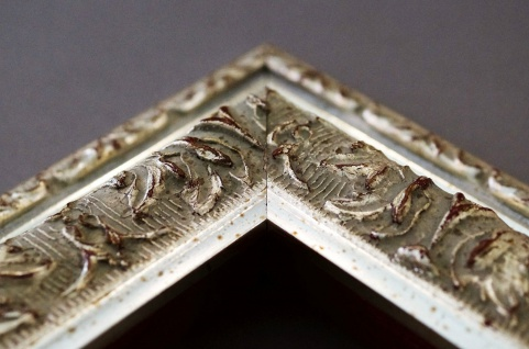 Spiegel Silber Antik Barock Wandspiegel Badspiegel Flur Prunkrahmen Rom 6, 5 - Vorschau 5