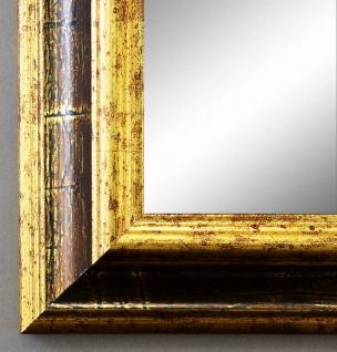 Wandspiegel Hochformat Querformat Bari Antik Gold Braun 4, 2 - NEU alle Größen