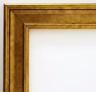 Bilderrahmen Gold Antik Barock Modern Holz Landhaus Hamburg 3, 4 - alle Größen
