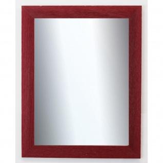 Dekospiegel dunkel Rot Florenz Shabby 4, 0 - NEU alle Größen