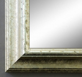 Spiegel Silber Wandspiegel Antik Barock Badspiegel Flur Garderobe Genua 4, 3