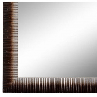 Wandspiegel Spiegel Braun Silber Vintage Holz Sorrento 2, 5 - NEU alle Größen