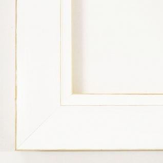 Bilderrahmen Foto Urkunden Rahmen Antik Vintage Shabby Landhaus Corona Weiß 4, 2