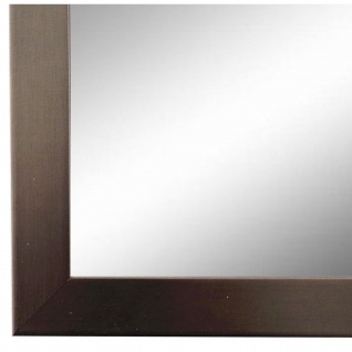 Badspiegel Spiegel dkl. Silber Modern Holz Amalfi 2, 5 - NEU alle Größen