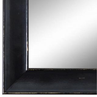 Wandspiegel Spiegel Schwarz Shabby Retro Matera 3, 9 - NEU alle Größen