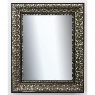 Badspiegel Schwarz Silber Ancona Barock 7, 5 - NEU alle Größen