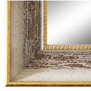 Wandspiegel Spiegel Beige Braun Vintage Retro Holz Monza 6, 7 - NEU alle Größen