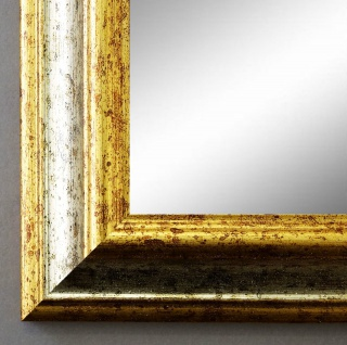 Badspiegel Silber Gold Bari Antik Barock 4, 2 - alle Größen