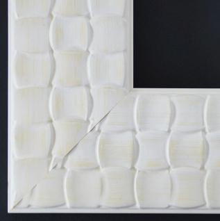 Bilderrahmen Rahmen Holz Modern Art Deco Bremen in Weiss 8, 0 - Top Qualität