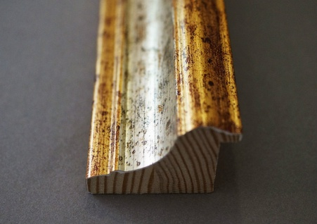 Wandspiegel Hochformat Querformat Bari Antik Silber Gold 4, 2 - NEU alle Größen - Vorschau 3