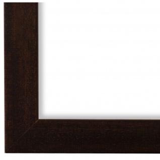 Bilderrahmen Braun Modern Holz Alba 3, 0 - DIN A2 - DIN A3 - DIN A4 - DIN A5