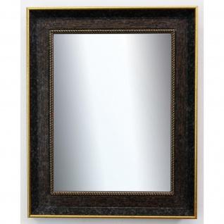 Dekospiegel dunkel Braun Gold Monza Antik Barock 6, 7 - NEU alle Größen