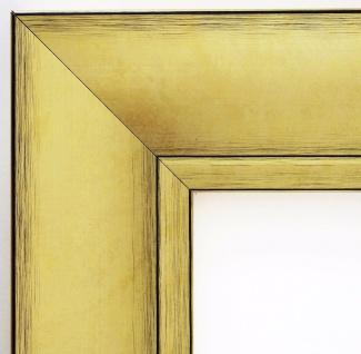 Bilderrahmen Gold Antik Shabby Rahmen Holz Klassisch Bochum 6, 9 - alle Größen