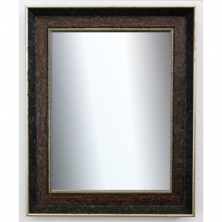 Flurspiegel dunkel Braun Silber Monza Antik Barock 6, 7 - NEU alle Größen