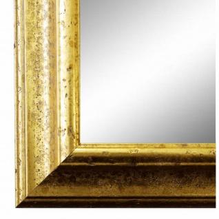 Wandspiegel Spiegel Gold Vintage Retro Holz Genua 4, 3 - NEU alle Größen