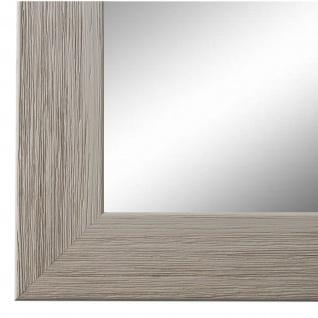 Wandspiegel Spiegel Grau Struktur Modern Holz Florenz 4, 0 - NEU alle Größen