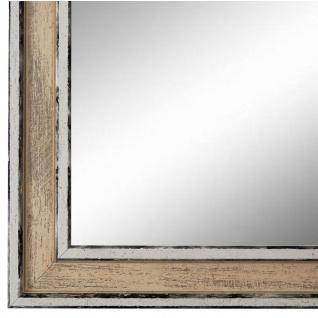 Wandspiegel Spiegel Creme Retro Shabby Holz Lugnano 2, 8 - NEU alle Größen