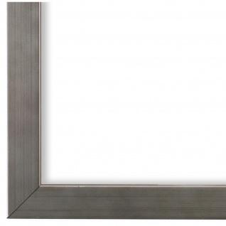 Bilderrahmen Silber Modern Holz Como 2, 0 - NEU alle Größen