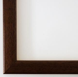 Bilderrahmen Braun Modern Art Deco Rahmen Holz Hannover 2, 4 - alle Größen NEU