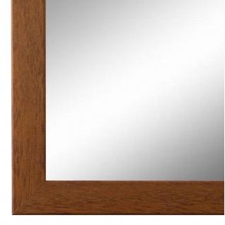 Wandspiegel Spiegel hell Braun Retro Modern Holz Neapel 2, 0 - NEU alle Größen